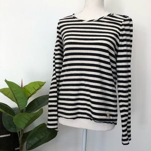 Marc by Marc Jacobs Striped Long Sleeve Tee